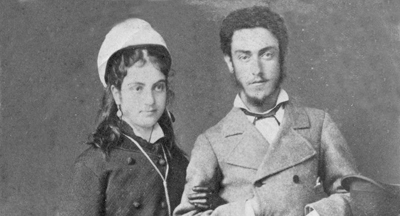 Спиридон Николаевич с женой Прасковьей