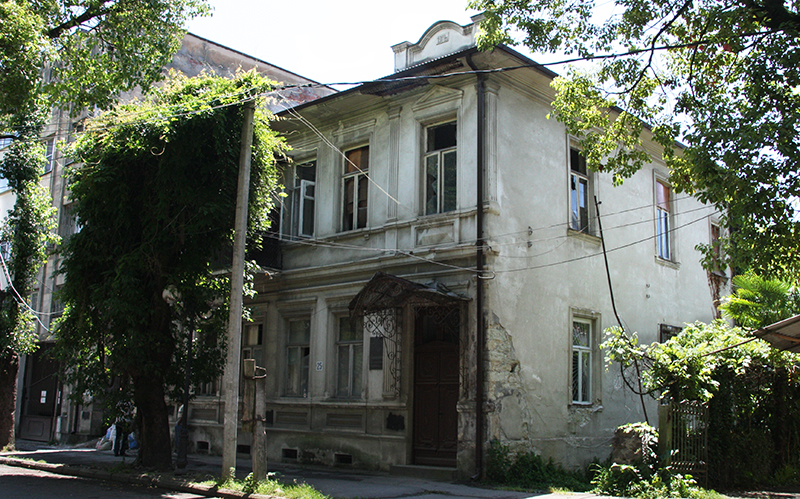 Дом Николая Павловича Метакса, 1912 г. постройки.