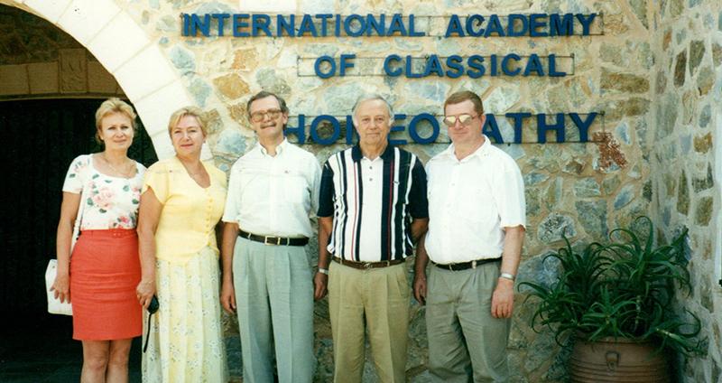Г.Витулкас, его гости из Киева - руководители,ведущие специалисты  и преподаватели Киевской Академии постдипломного образования и Богила.