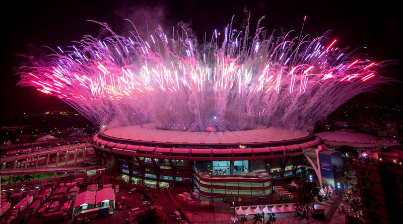 Открытие Олимпиады в Рио-2016