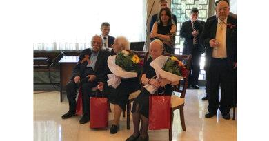 Ветераны войны в Афинах получили поздравления от Путина