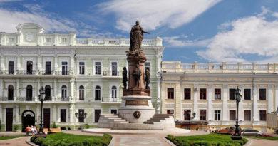 Екатерине Великой благодарная Одесса