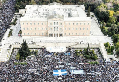 Греки вышли на защиту своего исторического наследия