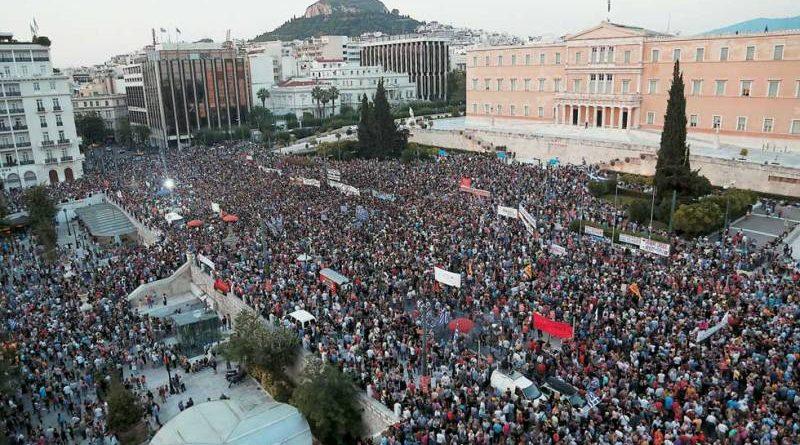 Что привело 4 февраля сотни тысяч греков со всех концов страны на главную площадь Афин?