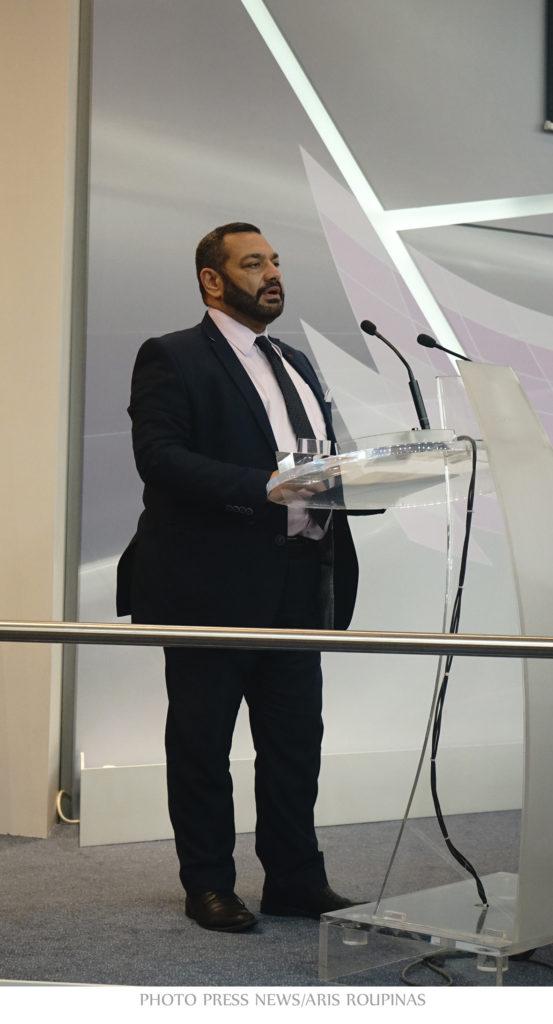 Генеральный секретарь министерства цифровой политики, печати и коммуникаций Греции Георгиос Флорентис