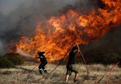 Ципрас взял на себя политическую ответственность за пожары